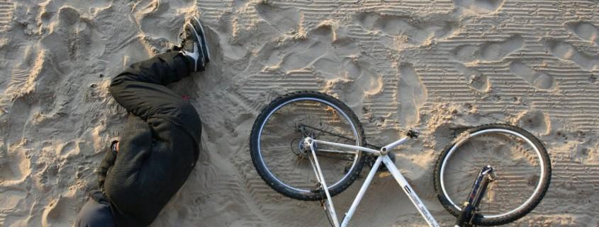 Sleeping on the Beach, San Sebastian